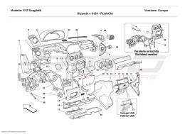 Ferrari 612 Scaglietti DASHBOARD