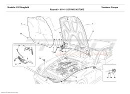 Ferrari 612 Scaglietti ENGINE BONNET