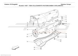 Ferrari 612 Scaglietti ENGINE/GEARBOX CONNECTING TUBE AND INSULATION