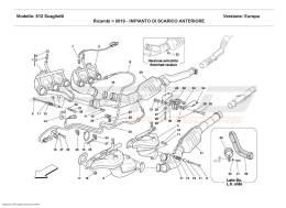 Ferrari 612 Scaglietti FRONT EXHAUST SYSTEM