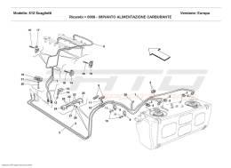 Ferrari 612 Scaglietti FUEL SUPPLY SYSTEM