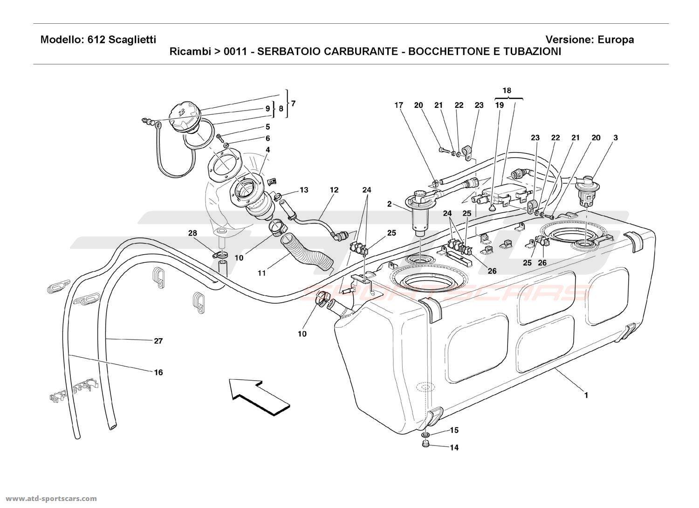 service manual  how to remove fuel pump 2009 ferrari 430