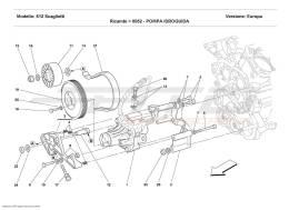 Ferrari 612 Scaglietti HYDRAULIC SERVO-CONTROL PUMP
