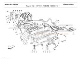 Ferrari 612 Scaglietti INJECTION DEVICE - IGNITION