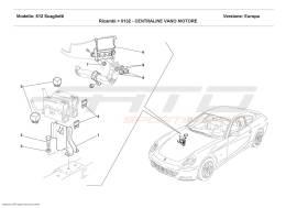 Ferrari 612 Scaglietti MOTOR COMPARTMENTS CONTROL STATIONS