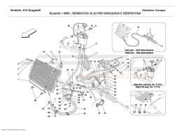 Ferrari 612 Scaglietti OIL TANK FOR SERVOSTEERING AND SERPENTINE
