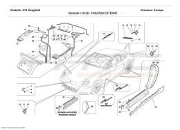 Ferrari 612 Scaglietti OUTSIDE FINISHINGS