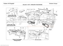 Ferrari 612 Scaglietti REAR BUMPER