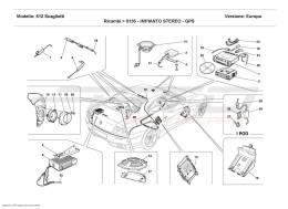 Ferrari 612 Scaglietti STEREO EQUIPMENT - GPS