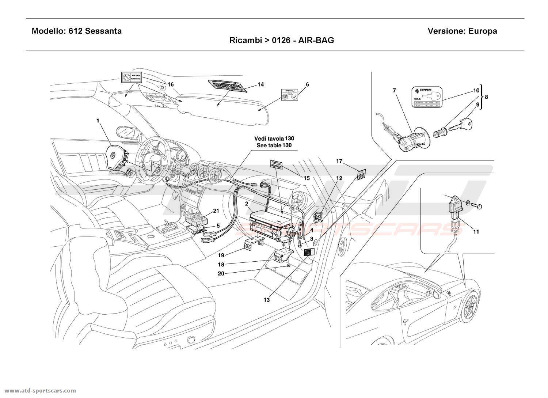 Ferrari 612 Sessanta AIR-BAG