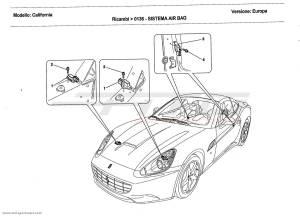 Ferrari California 2011 AIRBAG SYSTEM