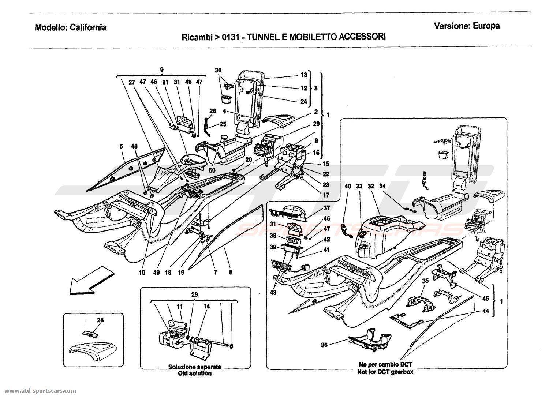 CENTRE TUNNEL AND ACCESSORY UNIT