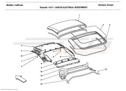 Ferrari California 2011 ELECTRIC ROOF: TRIM