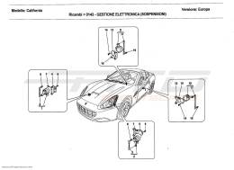 Ferrari California 2011 ELECTRONIC SUSPENSION MANAGEMENT