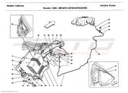 Ferrari California 2011 EVAPORATIVE EMISSIONS CONTROL SYSTEM
