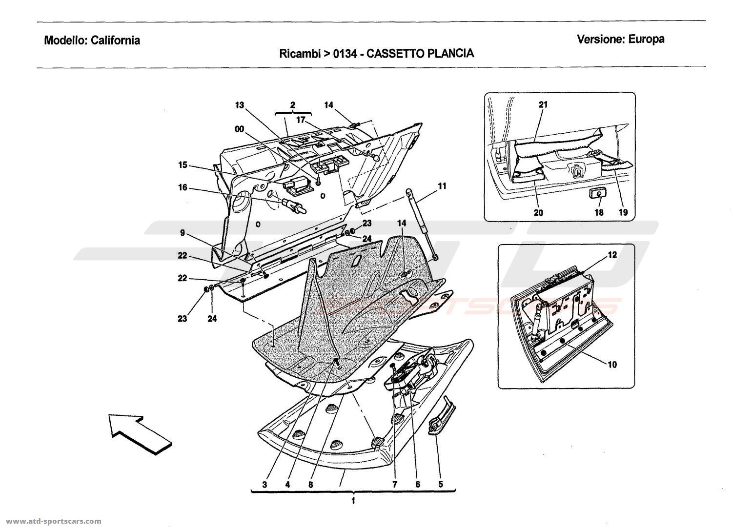 service manual  how to install glove box handle 2011 dodge