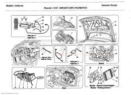 Ferrari California 2011 INFOTAINMENT SYSTEM