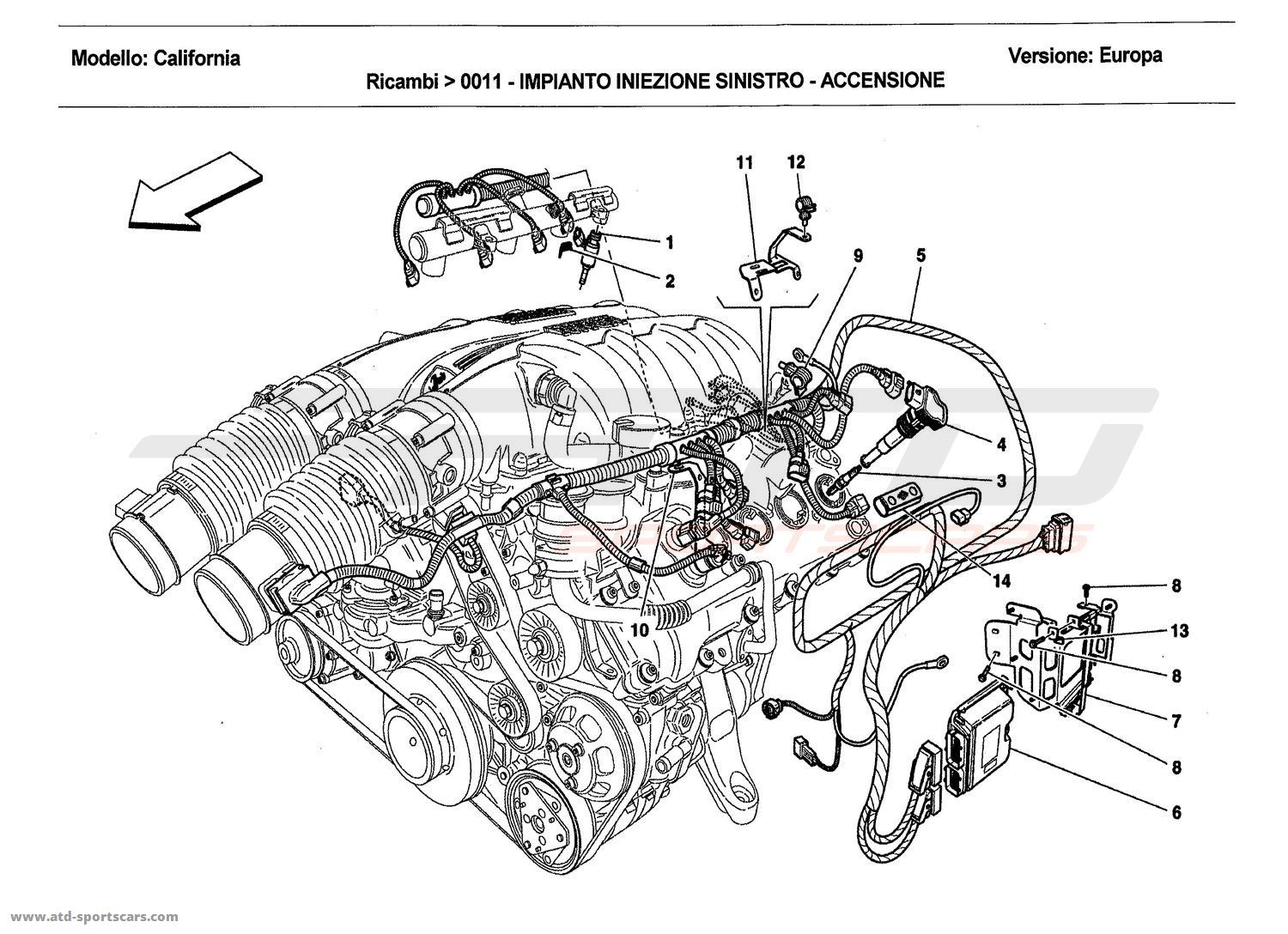 LEFT HAND INJECTION SYSTEM - IGNITION