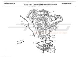 Ferrari California 2011 LUBRICATION: CIRCUIT AND PICKUP