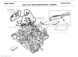 Ferrari California 2011 RIGHT HAND INJECTION SYSTEM - IGNITION