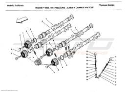 Ferrari California 2011 TIMING SYSTEM - CAMSHAFTS AND VALVES