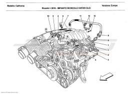 Ferrari California 2011 VAPOUR OIL RECOVERY SYSTEM