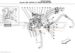 Ferrari California A/C UNIT: ENGINE COMPARTMENT DEVICES