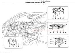 Ferrari California AIRBAG SYSTEM