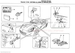 Ferrari California ALARM AND IMMOBILIZER SYSTEM