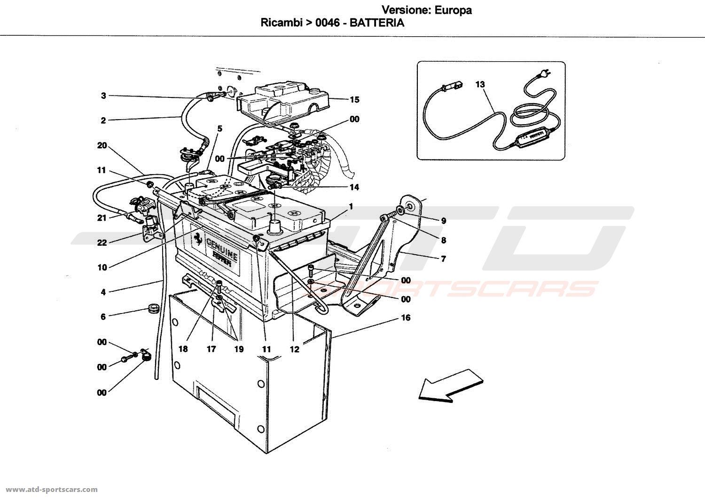 Ferrari California Parts Diagram Manual Of Wiring Fuse Box Battery At Atd Sportscars Rh Com