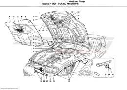 Ferrari California FRONT LID