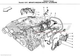 Ferrari California LEFT INJECTION DEVICE - IGNITION