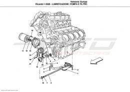 Ferrari California LUBRICATION SYSTEM: PUMP AND FILTER