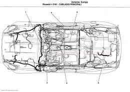 Ferrari California MAIN WIRING