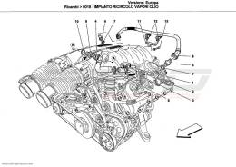 Ferrari California OIL VAPOUR RECIRCULATION SYSTEM