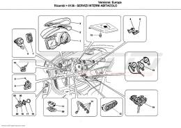Ferrari California PASSENGER COMPARTMENT DEVICES