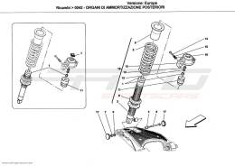Ferrari California REAR SHOCK ABSORBER DEVICES