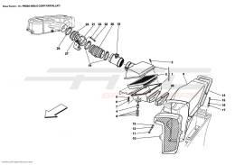 Ferrari Enzo AIR INTAKE AND THROTTLE BODIES