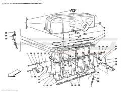 Ferrari Enzo AIR INTAKE MANIFOLD AND AIR BOX