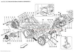 Ferrari Enzo ALTERNATOR, STARTING MOTOR AND A.C. COMPRESSOR
