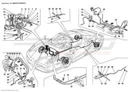 Ferrari Enzo BRAKE SYSTEM