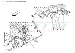 Ferrari Enzo BRAKES HYDRAULIC CONTROLS AND BRAKE BOOSTER SYSTEM