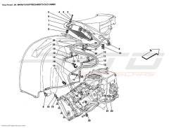 Ferrari Enzo COOLING SYSTEM GEARBOX OIL