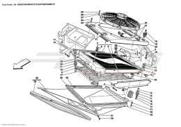 Ferrari Enzo COOLING SYSTEM RADIATORS