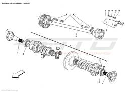 Ferrari Enzo DIFFERENTIAL AND AXLE SHAFTS