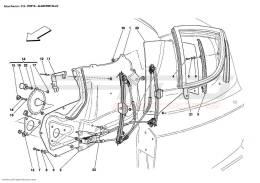 Ferrari Enzo DOORS - POWER WINDOW