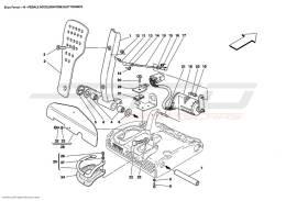 Ferrari Enzo ELECTRONIC ACCELERATOR PEDAL