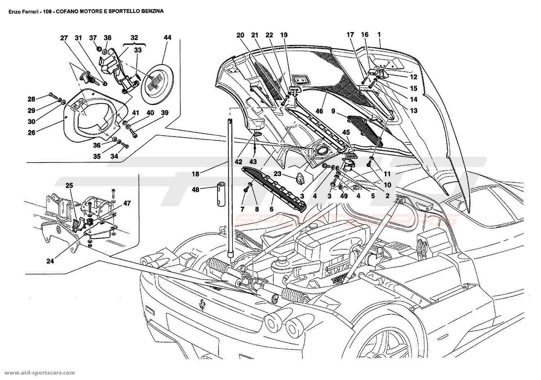 Ferrari Enzo Body Parts At Atd Sportscars Atd Sportscars