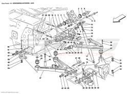 Ferrari Enzo FRONT SUSPENSION - WISHBONES