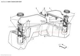 Ferrari Enzo FUEL PUMPS AND PIPES